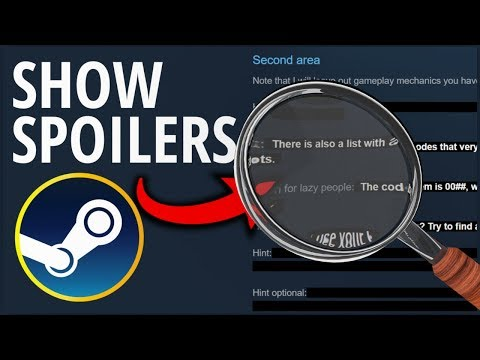 Show All Spoiler Tags in Steam Guides [HowTo]