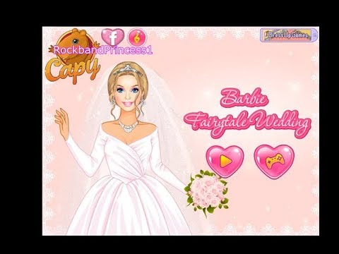 Barbie Wedding Dressup And Makeover Games Play Free Online