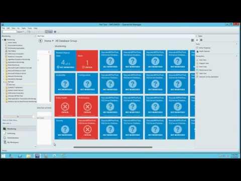 SQL Server 2016 Management Pack (CTP2) demo video