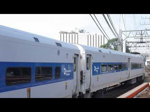 Metro North Danbury Train leaving South Norwalk, CT