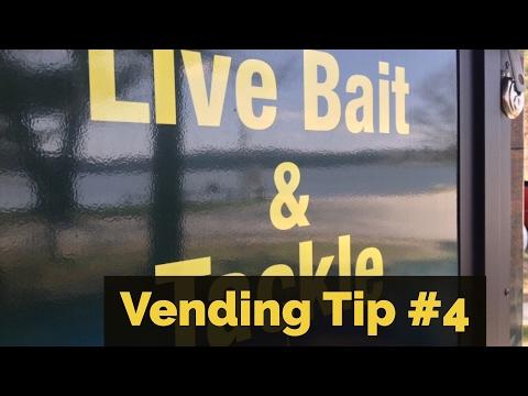 Live Bait Vending Bait Cups Tip #4