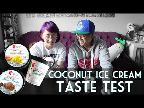 PRESIDENT'S CHOICE Coconut Milk Ice Cream Taste Test