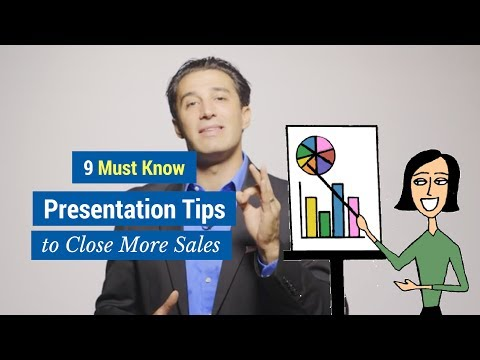 9 Must Know Presentation Tips to Close More Sales