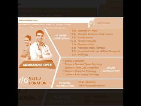 Career Guidance on  BHMS, Ayurveda, Siddha ,  Unani , MBBS, Forensic science , Paramedical  Courses