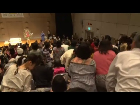 Meditation - The Secret to Happiness with Gurudev Sri Sri Ravi Shankar from Tokyo, Japan