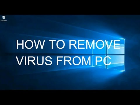 How to Remove Virus on Windows7,8or10 (Safe Mode)