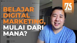 Kerangka Ideal Belajar Digital Marketing Untuk Pemula