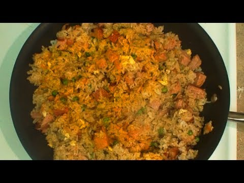 How to make Ham Fried Rice