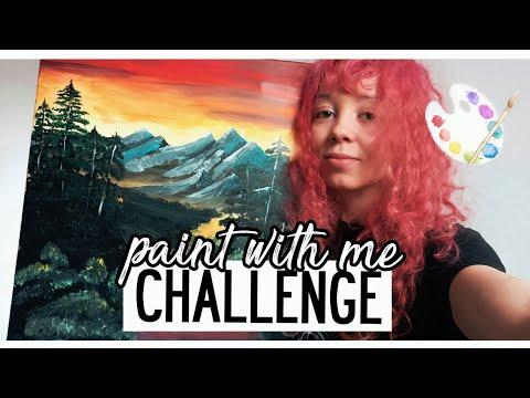 Xxx Mp4 I Followed A Bob Ross Video Paint With Me Challenge 3gp Sex