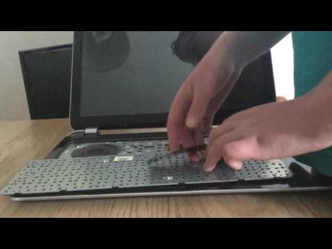 How to replace a keyboard from a HP Pavillion TouchSmart Laptop 💻