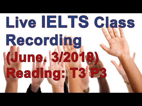 IELTS Reading Example and Strategy Test 3 Passage 3