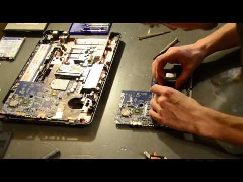 HP G62 Laptop Motherboard Replacement