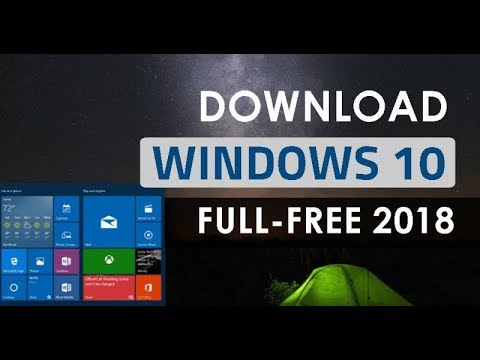 How To Download Windows 10 Full Version 2018 On Computer - របៀបដោនឡូត Windows 10