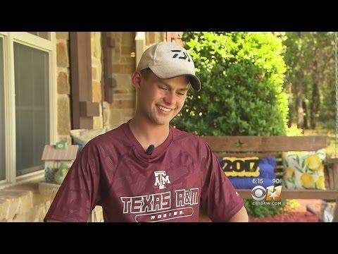 Texas Teen Wasn't Sure He'd Live To Graduate High School; He Did!