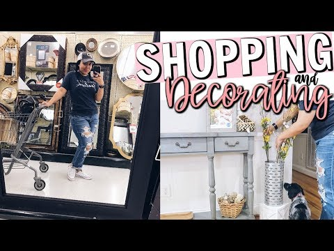 SHOP & DECORATE WITH ME 2018 | SHOPPING AT HOBBY LOBBY FOR SPRING HOME DECOR | Page Danielle