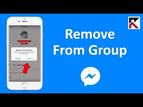 How To Remove Someone From A Group Conversation Messenger