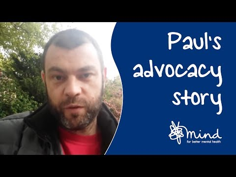 Mental health advocacy: Nick and Paul