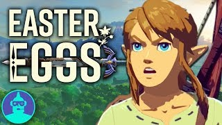 Legend of Zelda: Breath Of The Wild - Easter Eggs and Secrets YOU Should Know! | The Leaderboard
