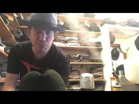 KEVIN FROM JJ HAT CENTER : How to reshape a fur felt hat at home