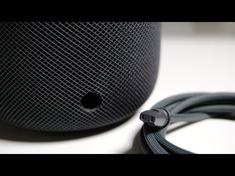 How to replace the HomePod power cable