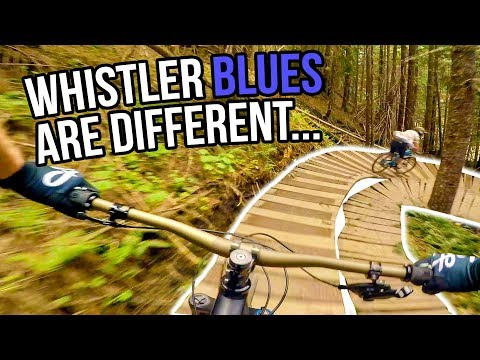 Whistler Bike Park Blue Trails On Opening Day 2018 w/BCPOV & Daily MTB Rider
