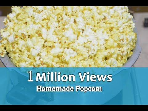 Popcorn| சோளப்பொரி  | Homemade Popcorn | Cooker Popcorn | Easy Cooking | Healthy Food