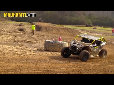 WILD WOMAN DRIVES THE WHEELS OFF A CANAM MAVERICK X3