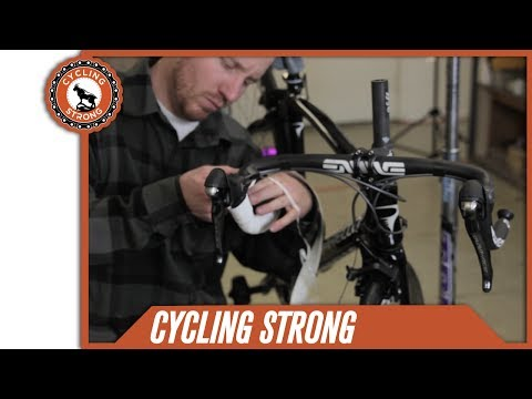 How to Wrap Road Bike Handlebar Tape Like a Pro with Cycling Strong