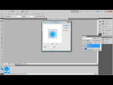 How to make Transparent Text in Photoshop CS5