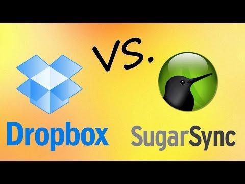 Sugarsync vs  Dropbox