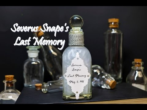 Severus Snape's Memories : DIY Potion Bottle : Potion Prop : (Harry Potter Inspired)