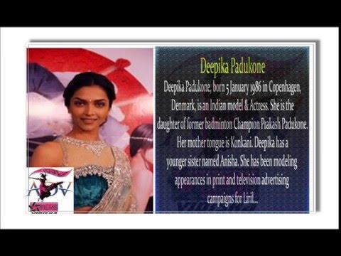 Deepika Padukone Bollywood Actors ADV FILM PRODUCTION HOUSES VIDISHA