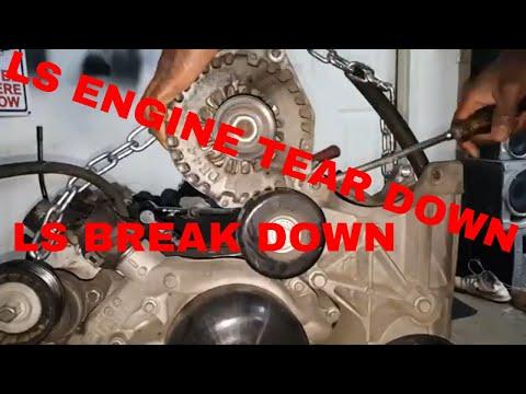 LS ENGINE TEAR DOWN STEP BY STEP 'JOURNEY BEGINS' DARKNESS PART 1