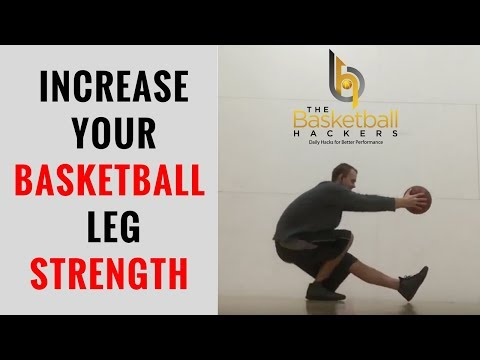 How To: Best Legs Exercise For Basketball Strength That Players Can Do At Home Without Weights!