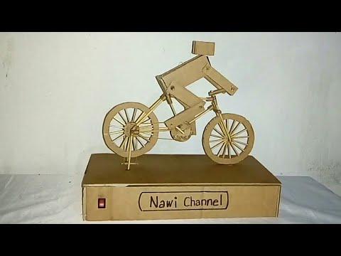 Membuat mainan sepeda jalan sendiri