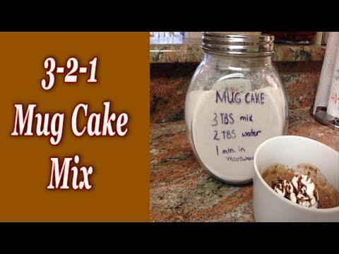 3-2-1 Mug Cake