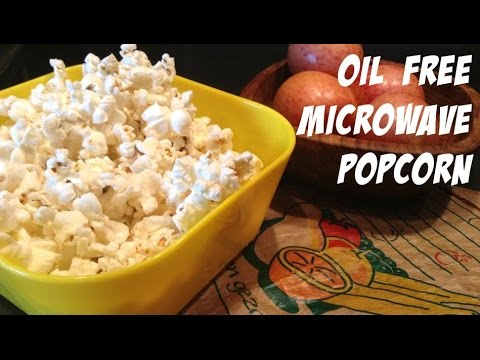Minute Tip #3: Oil Free Microwave Popcorn