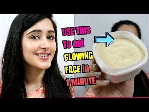 How to Get CRYSTAL CLEAR FACE & GLOWING SKIN - 1 Ingredient - 100% works
