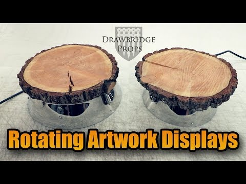 How to make Spinning Display Stands