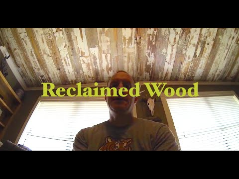 How To Make A Reclaimed Wood Ceiling