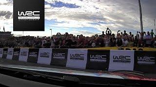 WRC - ADAC Rallye Deutschland 2017: ONBOARD Meeke´s Crash in SS1