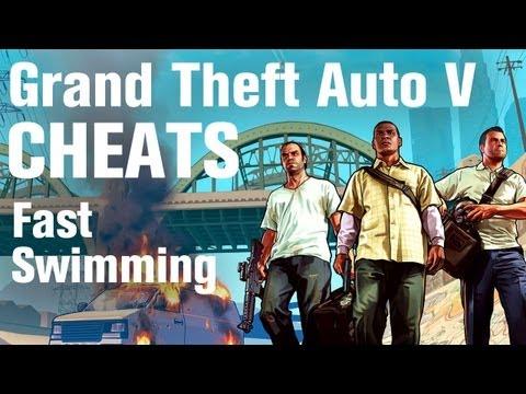 GTA 5 Cheats - Fast Swimming