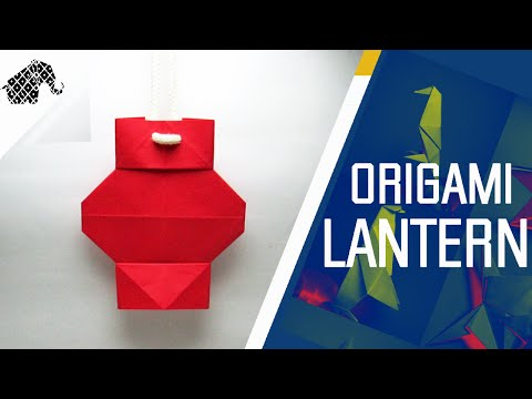 Origami - How To Make An Origami Lantern