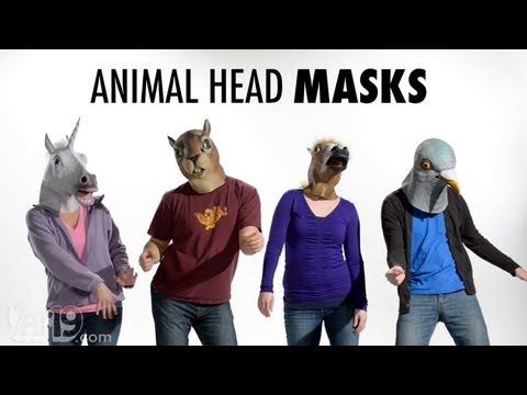 Creepy Animal Head Masks