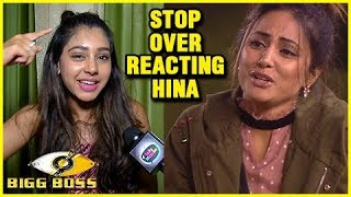 Niti Taylor Feels Hina Khan Is OVER REACTING In The Bigg Boss 11 House | EXCLUSIVE Interview