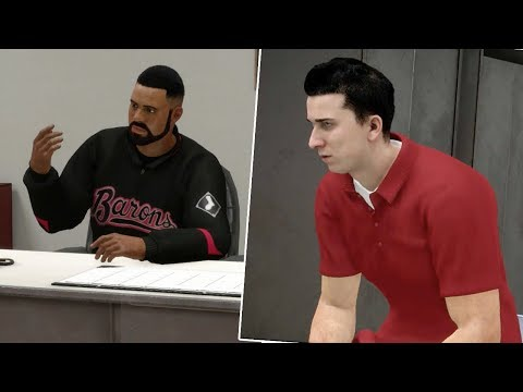 GETTING ANGRY AND STORMING OUT OF MEETING! MLB The Show 18 Road To The Show