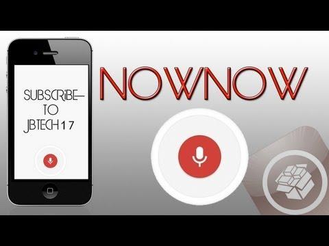 NowNow | Cydia Tweak: Replace Siri With Google Voice