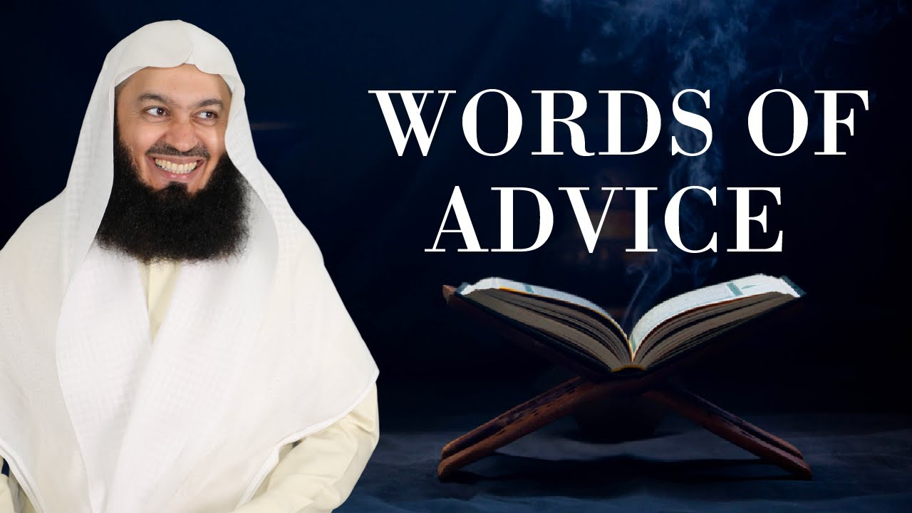 Words of Advice | Tadabbur Al Qur'an Graduation | Mufti Menk