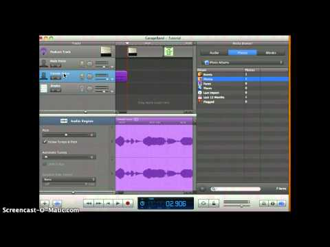 How to Make a Podcast in Garageband