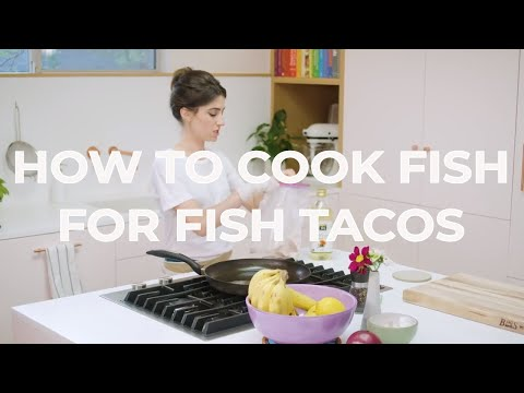 How To Cook the BEST Fish for Fish Tacos - Quick Bite